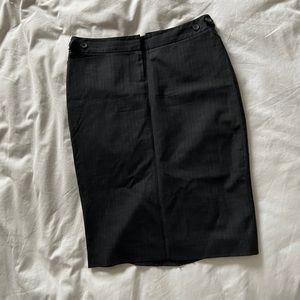Club Monaco Striped Pencil Skirt
